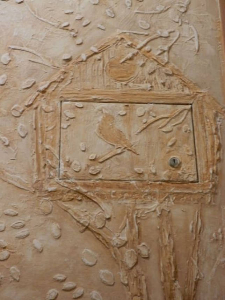 Объемная штукатурка на стене: особенности и техника нанесения